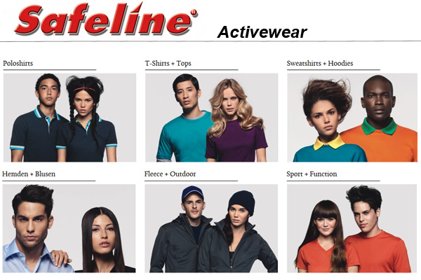 Safeline Activewear Hakro Katalog